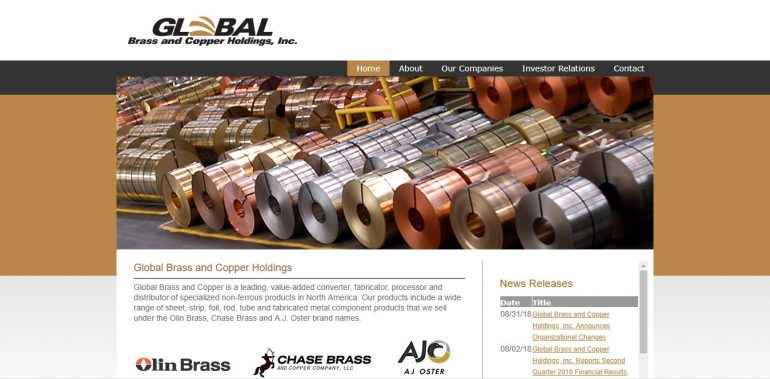 Global Brass and Copper Holdings, Inc  - GPI Holding - IT