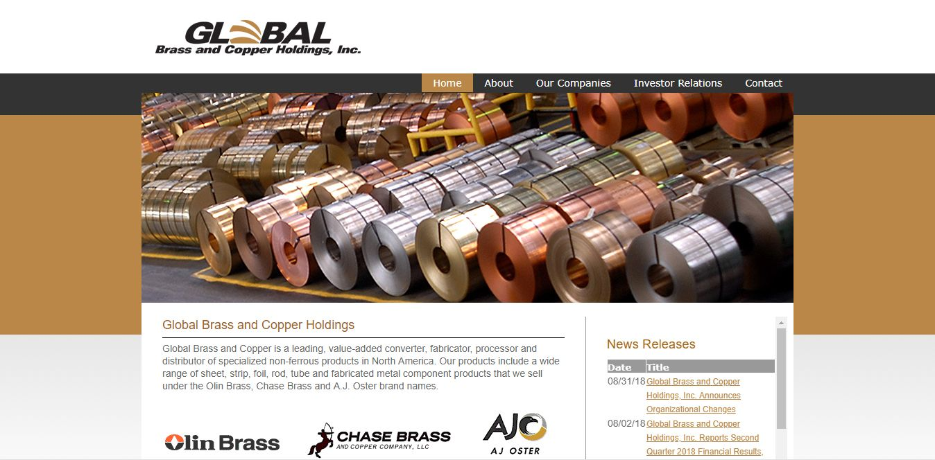 Global Brass and Copper Holdings, Inc.-0